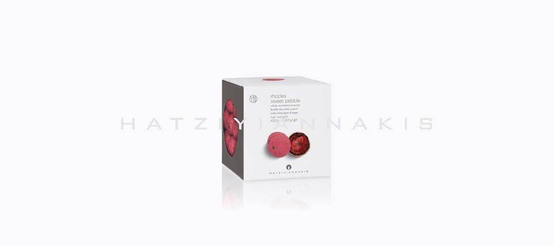 κουφέρο βότσαλο ρόδος φράουλα 500g