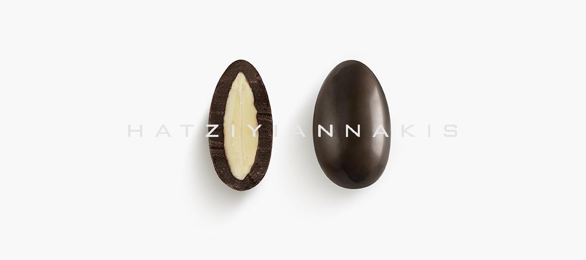 σοκολατένια ελιά με αμύγδαλο