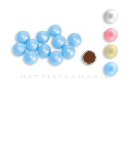 choco balls pearlescent decoratives