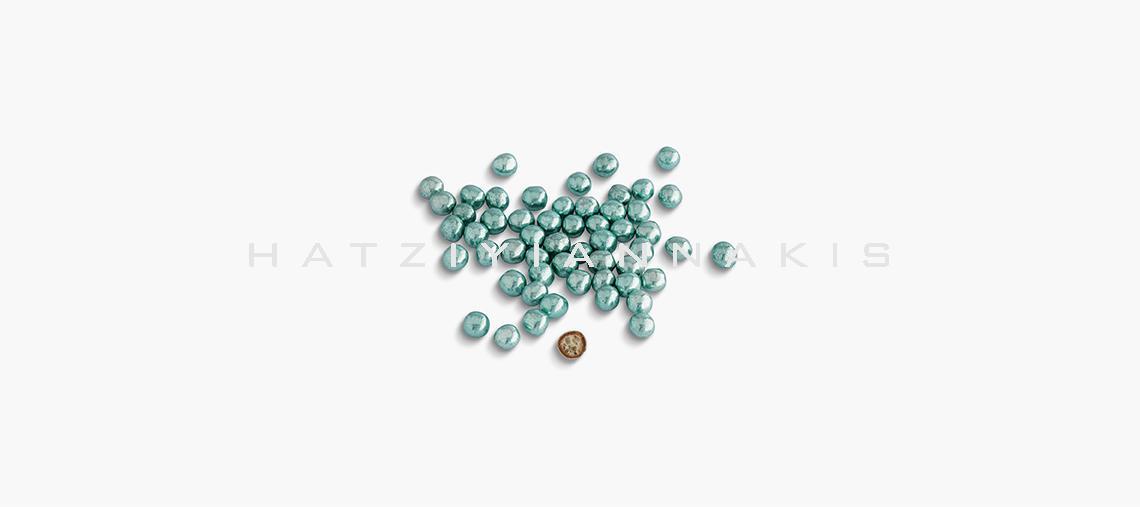 silver mini crispy blue color