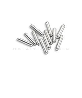 silver macaroni shape decorative hatziyiannakis